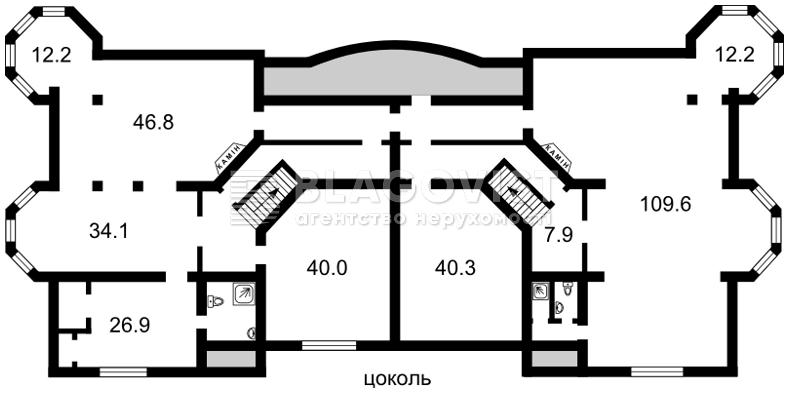 Дом A-104664, Гатное - Фото 3