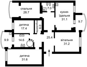 Квартира Героев Сталинграда просп., 10а, Киев, C-80894 - Фото2
