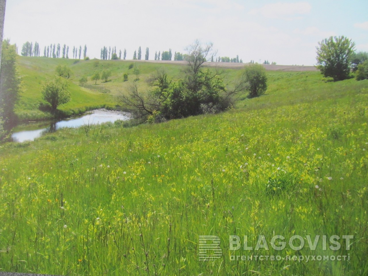 Земельный участок F-35987, Ржищев - Фото 1