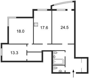 Квартира Панаса Мирного, 28а, Киев, Z-664240 - Фото2