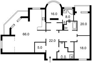 Квартира Шевченко Тараса бульв., 27б, Киев, R-952 - Фото 2