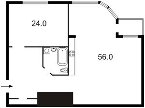 Квартира H-13812, Гончара О., 25, Київ - Фото 5