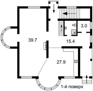 Дом M-31506, Осещина - Фото 3