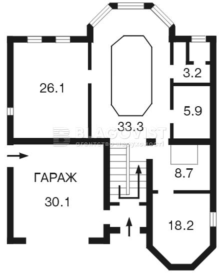 Дом F-18481, Петропавловская Борщаговка - Фото 1