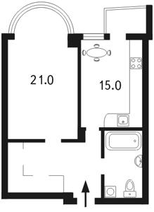 Apartment Moskovska, 46/2, Kyiv, I-10139 - Photo2