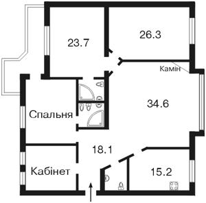 Квартира Круглоуниверситетская, 3/5, Киев, M-5394 - Фото2