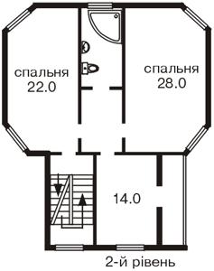 Дом C-88881, Дачная, Софиевская Борщаговка - Фото 3
