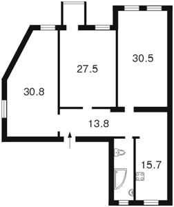 Квартира Шелковичная, 32/34, Киев, C-43112 - Фото 2