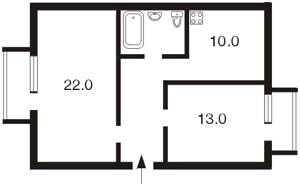 Квартира Кловский спуск, 5, Киев, C-89542 - Фото 2