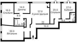 Квартира Героїв Сталінграду просп., 14г, Київ, E-20005 - Фото2