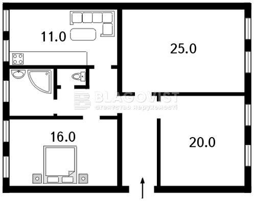 Квартира C-62658, Хмельницкого Богдана, 9б, Киев - Фото 6