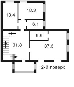 Дом Козин (Конча-Заспа), Z-657876 - Фото 2