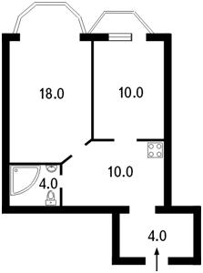 Квартира Волоська, 51/27, Київ, J-11847 - Фото2