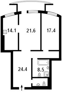Квартира Старонаводницкая, 6б, Киев, C-91011 - Фото 2