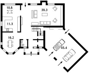 Будинок Нові Безрадичі, N-5349 - Фото