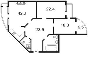 Квартира A-95958, Лесі Українки бул., 7б, Київ - Фото 6