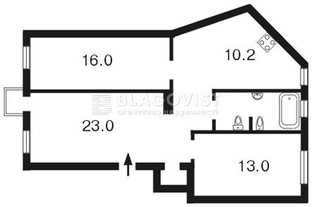 Квартира Z-1108568, Грушевского Михаила, 9, Киев - Фото 3