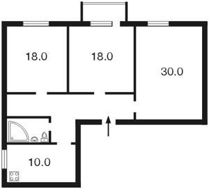 Квартира Михайлівський пров., 9б, Київ, C-91323 - Фото 2