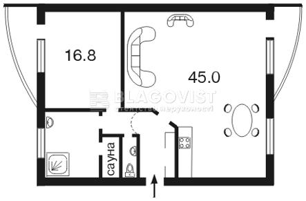 Квартира C-91515, Назаровская (Ветрова Бориса), 11, Киев - Фото 4