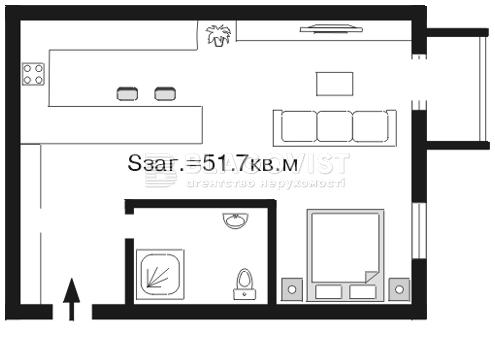Квартира A-82029, Шелковичная, 18а, Киев - Фото 2