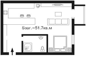 Квартира Шелковичная, 18а, Киев, A-82029 - Фото2