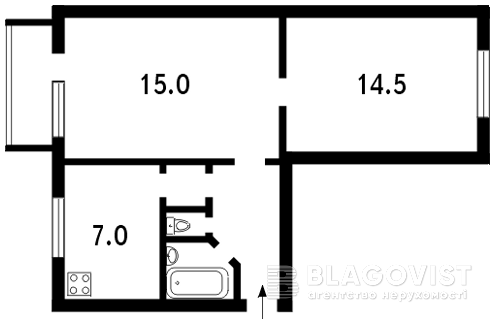 Квартира N-6082, Красилівська, 2/3, Київ - Фото 2