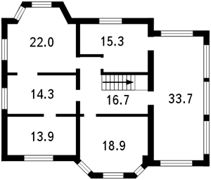 Дом Каштановая, Софиевская Борщаговка, L-11559 - Фото 3