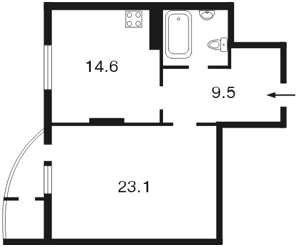Квартира Леси Украинки бульв., 7б, Киев, Z-739317 - Фото2