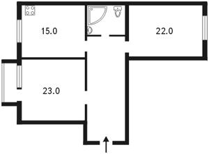 Квартира Грушевського М., 34а, Київ, Z-740396 - Фото2