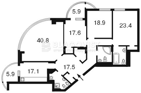Квартира A-88614, Лесі Українки бул., 7б, Київ - Фото 4
