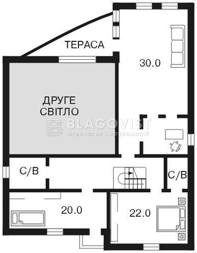 Дом F-22428, Козин (Конча-Заспа) - Фото 4