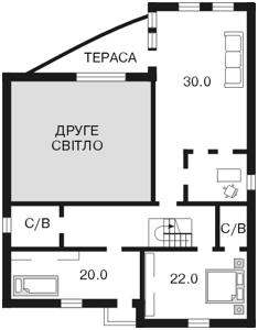 Будинок Козин (Конча-Заспа), F-22428 - Фото 3