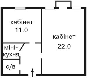 Офис, Михайловская, Киев, X-4432 - Фото2