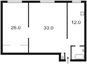 Квартира Владимирская, 40/2, Киев, Z-687949 - Фото2