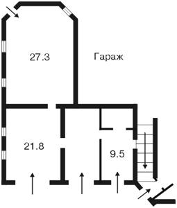 Будинок Петропавлівська Борщагівка, Z-761244 - Фото 7
