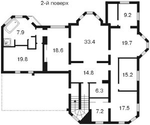 Будинок Петропавлівська Борщагівка, Z-761244 - Фото 5