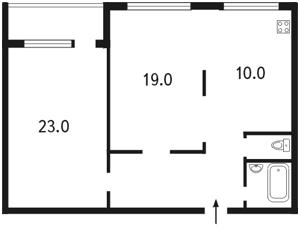 Квартира Михайловская, 2, Киев, C-63844 - Фото 2