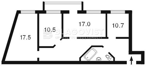 Офис, O-8099, Голосеевский проспект (40-летия Октября просп.), Киев - Фото 3