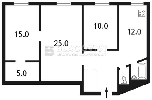 Квартира C-92646, Владимирская, 40/2, Киев - Фото 5