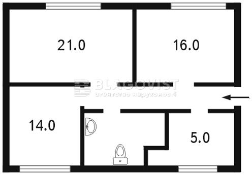 Офіс, C-71388, Винниченка Володимира (Коцюбинського Юрія), Київ - Фото 4