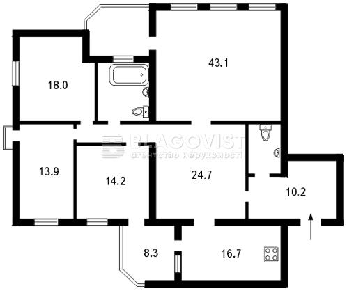 Квартира Z-794877, Металлистов, 11а, Киев - Фото 3