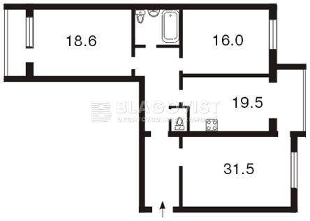Квартира Z-589314, Героев Сталинграда просп., 4 корпус 3, Киев - Фото 4