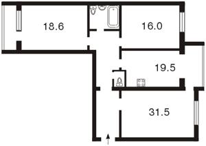 Квартира Героев Сталинграда просп., 4 корпус 1, Киев, Z-589314 - Фото2