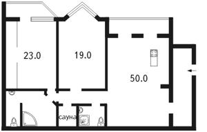 Квартира Коновальца Евгения (Щорса), 32г, Киев, M-10567 - Фото2