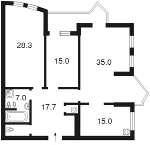 Квартира Дмитриевская, 17а, Киев, F-23408 - Фото2