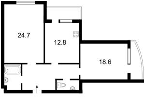 Квартира Голосіївська, 13б, Київ, Z-813055 - Фото2