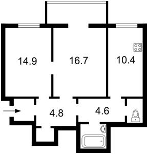 Квартира Большая Васильковская, 36, Киев, A-91256 - Фото2