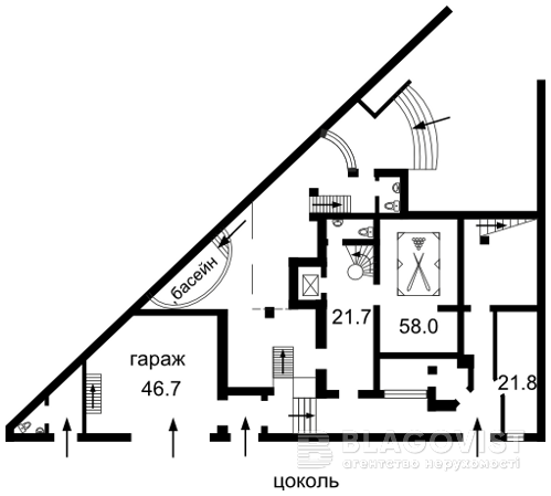 Дом M-15043, Цимбалов Яр, Киев - Фото 3