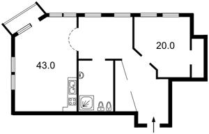 Квартира Городецького Архітектора, 10/1, Київ, J-15183 - Фото2