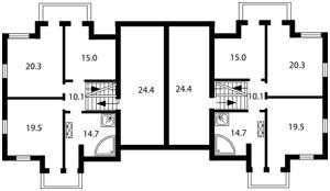 Дом Рыльского Максима, Гореничи, L-14200 - Фото3